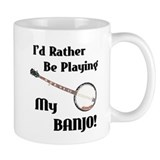 Playing My Banjo Small Mug