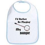 Playing My Banjo Bib