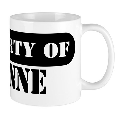 Property of Leanne Mug
