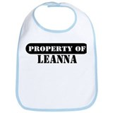 Property of Leanna Bib