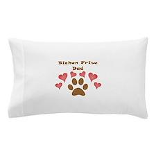 Bichon Frise Dad Pillow Case