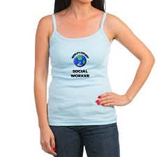 World's Coolest Social Worker Tank Top