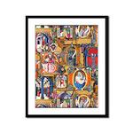 Medieval Illuminations Framed Panel Print