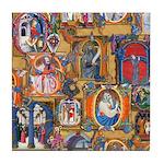 Medieval Illuminations Tile Coaster