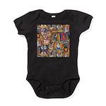 Medieval Illuminations Baby Bodysuit