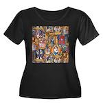 Medieval Illuminations Plus Size T-Shirt