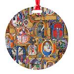 Medieval Illuminations Ornament