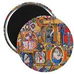 Medieval Illuminations Magnet
