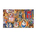 Medieval Illuminations Rectangle Car Magnet