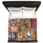 Medieval Illuminations King Duvet