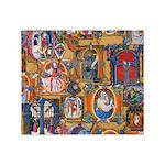 Medieval Illuminations Throw Blanket