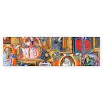 Medieval Illuminations Bumper Sticker