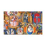 Medieval Illuminations Wall Decal