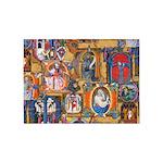 Medieval Illuminations 5'x7'Area Rug