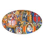Medieval Illuminations Sticker