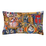 Medieval Illuminations Pillow Case
