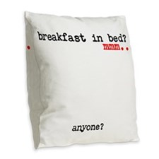 Cool Bed and breakfast Burlap Throw Pillow