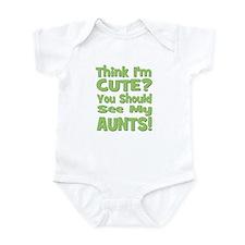 Think I'm Cute? AuntS! (PLURA Onesie