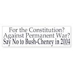 Pro-Constitution, Anti-War, Anti-Bush/Ch