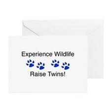 Experience Wildlife Raise Twi Greeting Cards (Pack