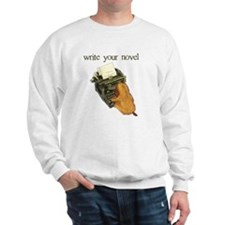 write your novel Sweatshirt