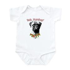 Bullmastiff Bah Humbug Infant Bodysuit