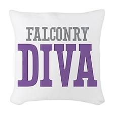 Falconry DIVA Woven Throw Pillow
