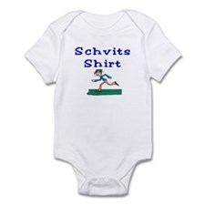 Schvits Shirt Runner Infant Bodysuit