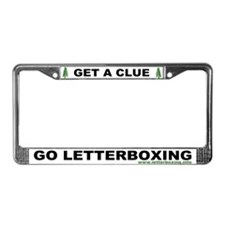Cool Letterboxing License Plate Frame