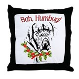 Dogue Bah Humbug Throw Pillow