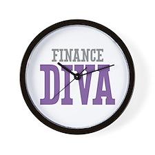 Finance DIVA Wall Clock