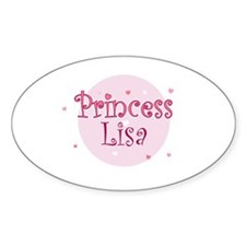 Lisa Oval Decal