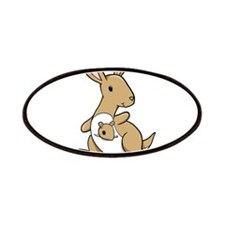 Kangaroo Family Patches