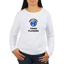World's Coolest Town Planner Long Sleeve T-Shirt