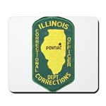Illinois Corrections Mousepad