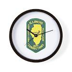 Illinois Corrections Wall Clock