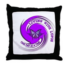 Lupus Awareness Throw Pillow