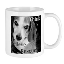 Think, Believe, Rescue! Mug
