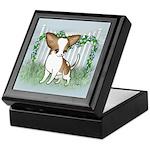 GF Chihuahua- Brown & Wht Keepsake Box