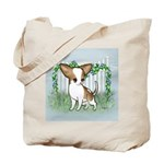 GF Chihuahua- Brown & Wht Tote Bag
