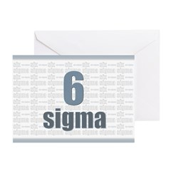 Six Sigma Greeting Cards (Pk of 10)