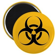"Biohazard 2.25"" Magnet (10 pack)"