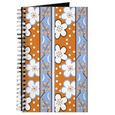 Plum Blossom Orange/Blue Journal