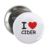 I love cider Button
