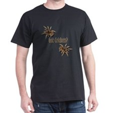 Tarantula Got Crickets Black T-Shirt
