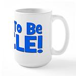 Soon To Be Uncle! Blue Large Mug
