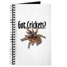 Tarantula Got Crickets Journal