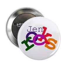 "Jen rocks 2.25"" Button (100 pack)"