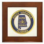 Alabama Bomb Squad Framed Tile