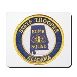 Alabama Bomb Squad Mousepad